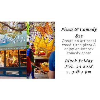 Pizza & Comedy (3pm)