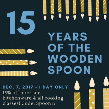 Happy 15th Anniversary to The Spoon!