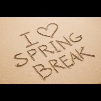 Dreaming of Spring Break