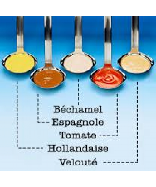 5 mother sauces
